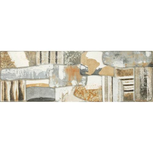 Dune ceramics Alquimia Dekorfliese multicolour seidenmatt 30x90 cm
