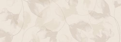 Steuler Vanille Dekor ,,Blossom´´ vanille glänzend 35x100 cm