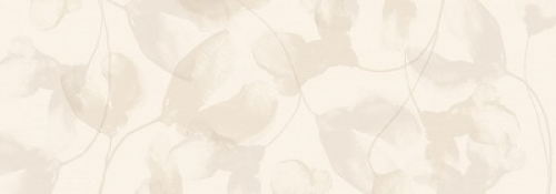 Steuler Vanille Dekor ,,Blossom´´ vanille matt 35x100 cm