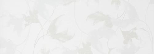 Steuler Pure White Dekor ,,Blossom´´ weiß glänzend 35x100 cm