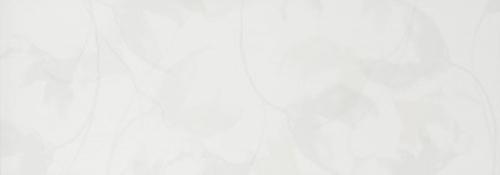 Steuler Pure White Dekor ,,Blossom´´ weiß matt 35x100 cm