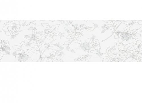 Villeroy & Boch Moonlight Bordüre weiß glänzend 7x30 cm
