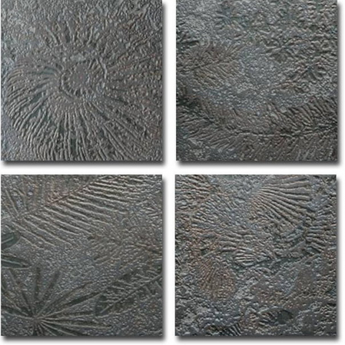 Grespania Atlas Dekor Tubqal negro 22x22 cm