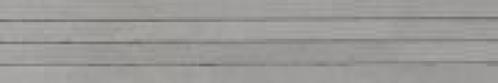 Agrob Buchtal Cedra Bordüre 281729 grau eben 10x60 cm