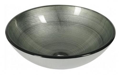 Dune Aufsatzwaschbecken Lavabo Agadir Silver 42x42x14,5 cm
