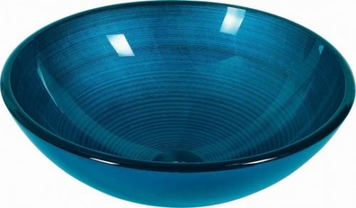 Dune Aufsatzwaschbecken Lavabo Agadir Blue 42x42x14,5 cm