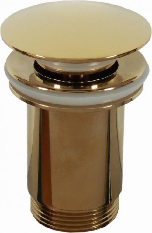 Dune Waschbeckenstöpsel Valvula One Touch Gold 9x65 cm