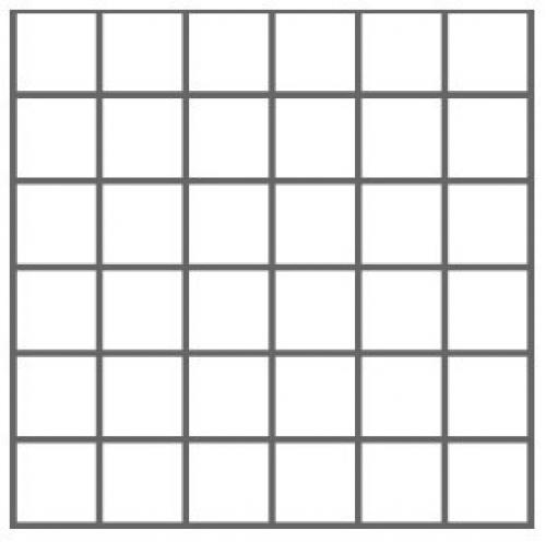 Nordceram Shift 5x5 Mosaik grau matt 32x32 cm