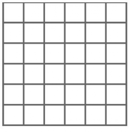 Nordceram Shift 5x5 Mosaik grau matt 30x30 cm