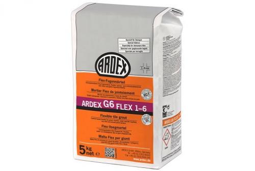 ARDEX G6 Flex-Fugenmörtel FLEX 1-6 5 Kg Beutel