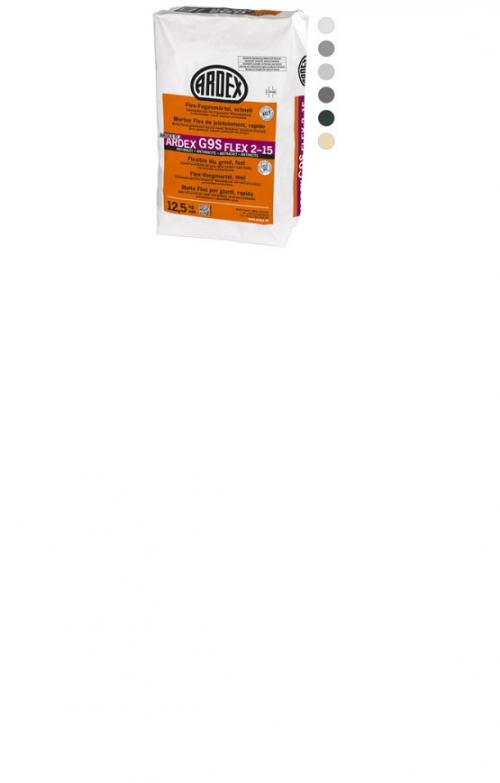 ARDEX G9S Flex-Fugenmörtel schnell FLEX 2-15 5 Kg