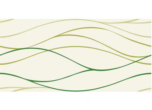 Villeroy & Boch Play It! Dekor grün glänzend 25x50 cm