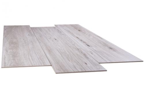 Stn Ceramica Balau 23x120 cm gris matt Holzoptik