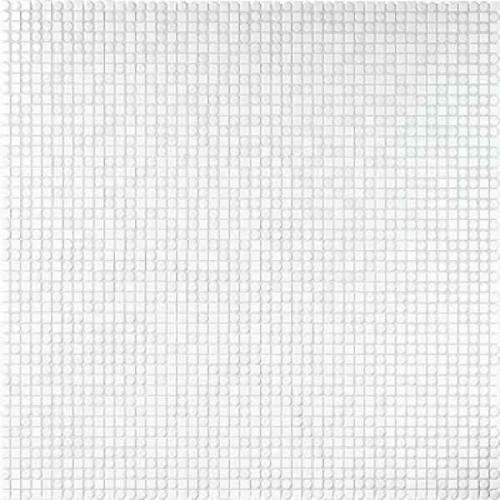 Jasba Loop Mosaik Random-Mix arktisweiß glänzend 60x60 cm