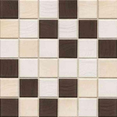 Jasba Senja Pure 5x5 Mosaik Secura ahorn-wenge-mix 32x32 cm