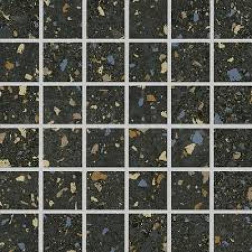 Agrob Buchtal Nova 5x5 Mosaik anthrazit bunt matt 30x30 cm