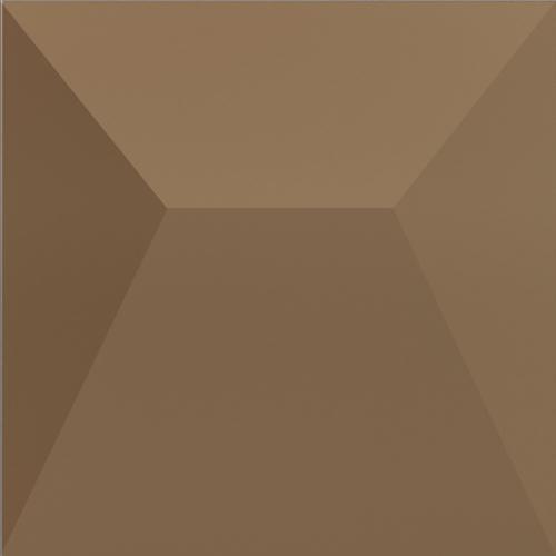 Dune ceramics Japan Bronzo Wandfliese braun seidenmatt 25x25 cm