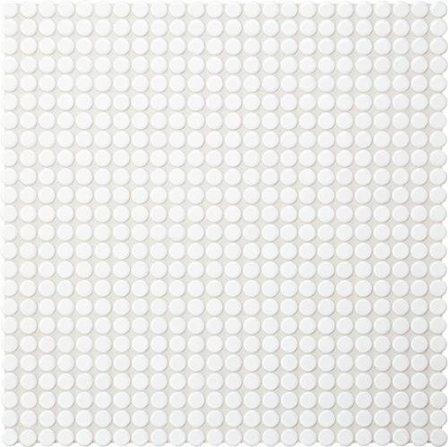 Jasba Loop Mosaik arktisweiß glänzend 32x32 cm