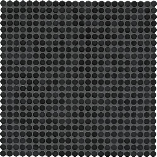 Jasba Loop Mosaik nachtschwarz glänzend 32x32 cm