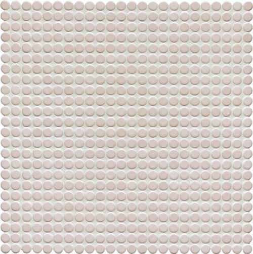 Jasba Loop Mosaik elfenbein hell glänzend 32x32 cm