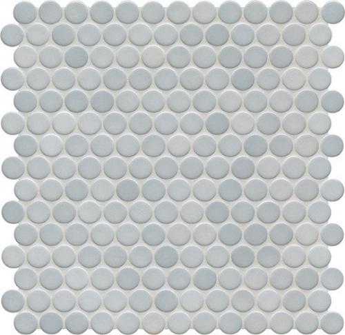 Jasba Loop Mosaik denim glänzend 31x32 cm