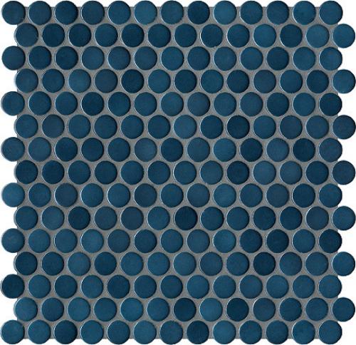 Jasba Loop Mosaik stahlblau glänzend 31x32 cm