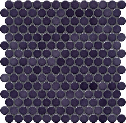 Jasba Loop Mosaik dunkelviolett glänzend 31x32 cm