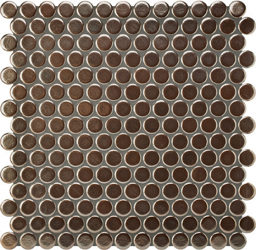 Jasba Loop Mosaik bronze-metallic glänzend 31x32 cm