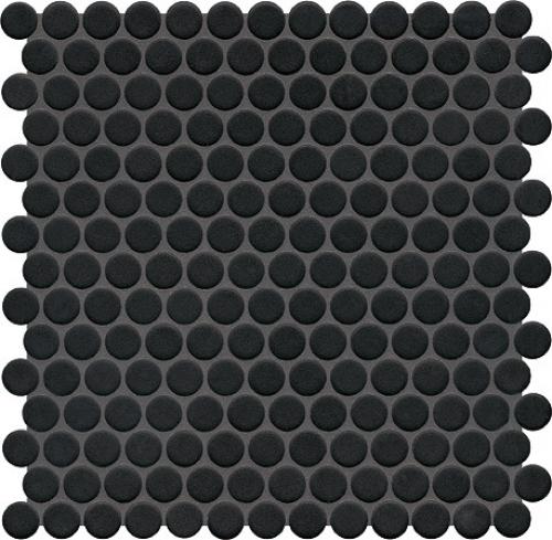 Jasba Loop Mosaik nachtschwarz glänzend 31x32 cm