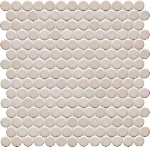 Jasba Loop Mosaik elfenbein hell glänzend 31x32 cm