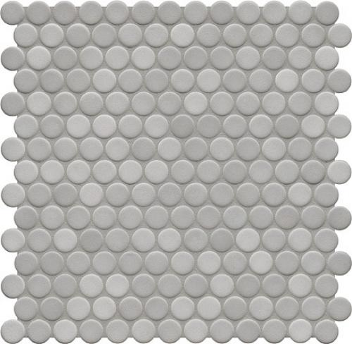 Jasba Loop Mosaik diamantgrau hell glänzend 31x32 cm