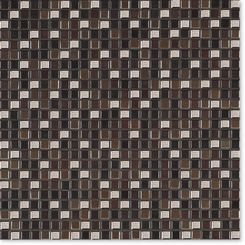 Jasba Natural Glamour Mosaik Secura kastanie-mix matt 31x31 cm