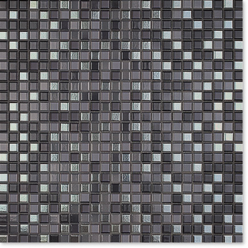 Jasba Natural Glamour Mosaik Secura anthrazit-mix matt 31x31 cm