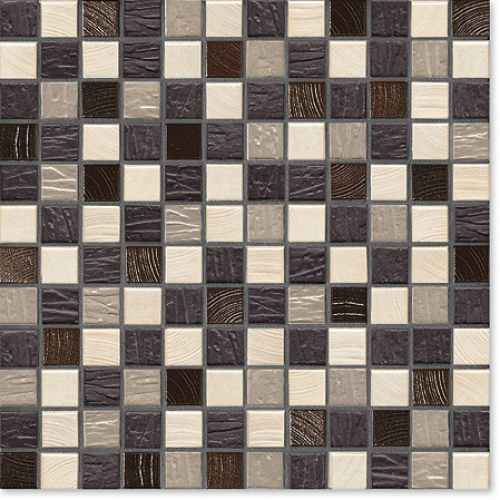 Jasba Natural Glamour Mosaik Natural-mix matt 31x31 cm