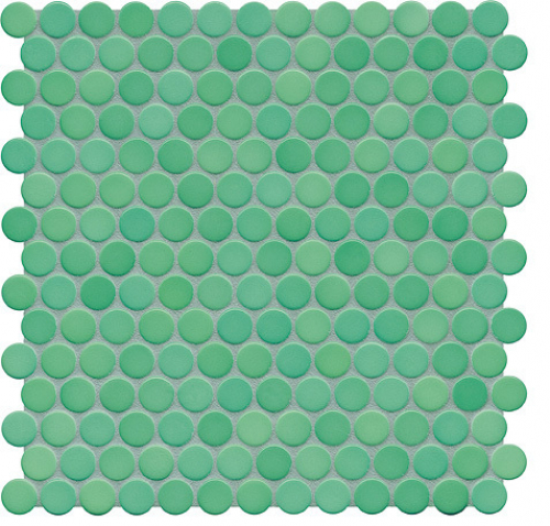 Jasba Loop Mosaik seegrün glänzend 31x32 cm