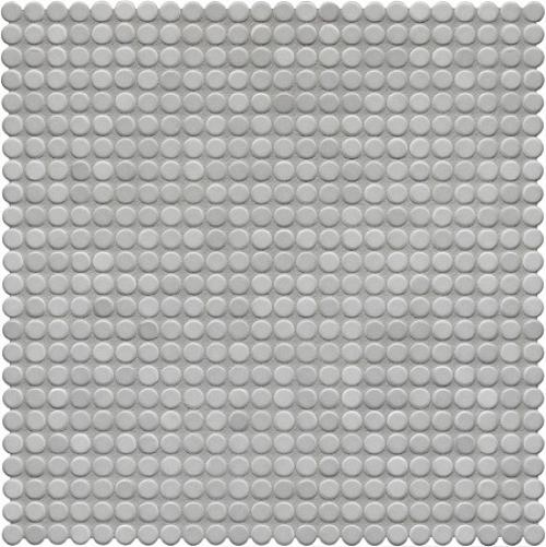 Jasba Loop Mosaik diamantgrau hell glänzend 32x32 cm