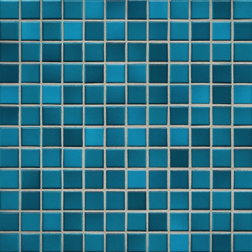 Jasba Fresh Mosaik pacific blue-mix glänzend 32x32 cm