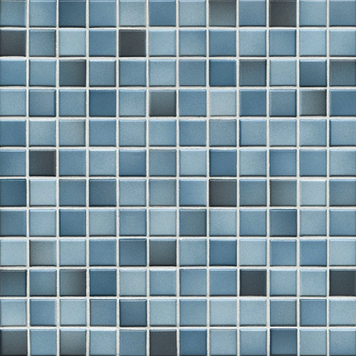 Jasba Fresh Mosaik Secura denim blue-mix 32x32 cm