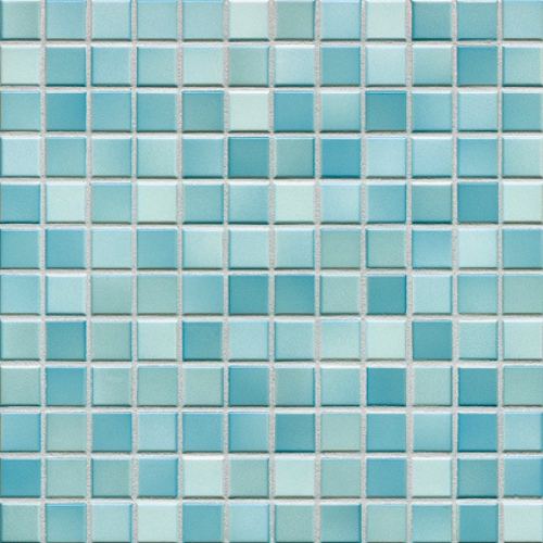Jasba Fresh Mosaik light blue-mix glänzend 32x32 cm