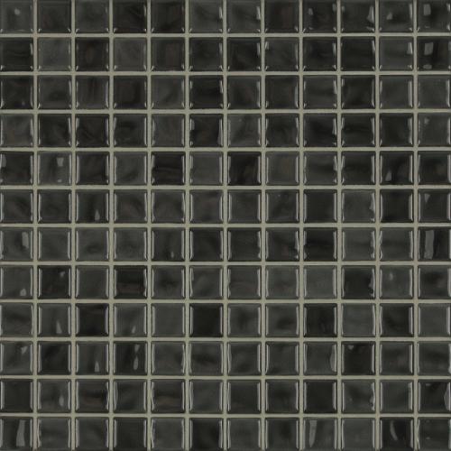 Jasba Amano Mosaik anthrazit glänzend 32x32 cm