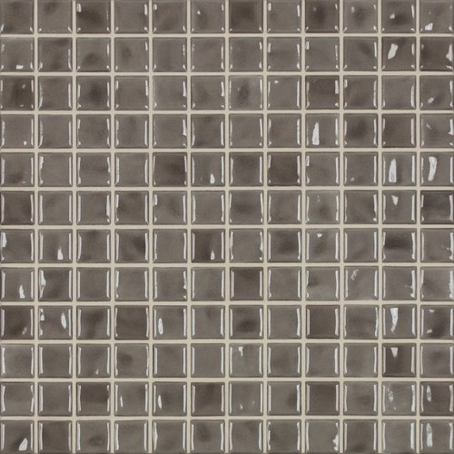 Jasba Amano Mosaik taupe glänzend 32x32 cm