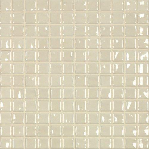 Jasba Amano Mosaik creme glänzend 32x32 cm