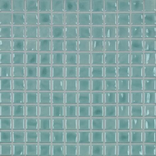 Jasba Amano Mosaik eisblau glänzend 32x32 cm