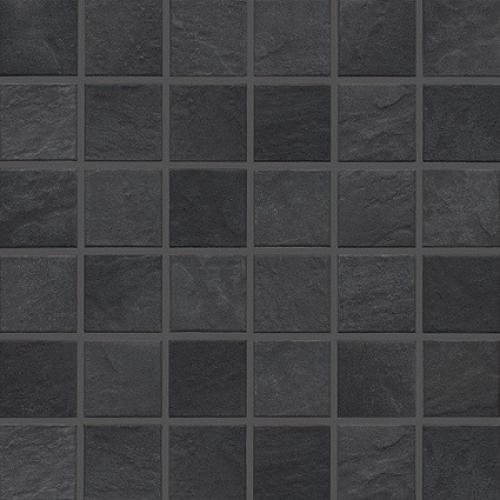 Jasba Basic Stone Mosaik Secura schwarz matt 32x32 cm