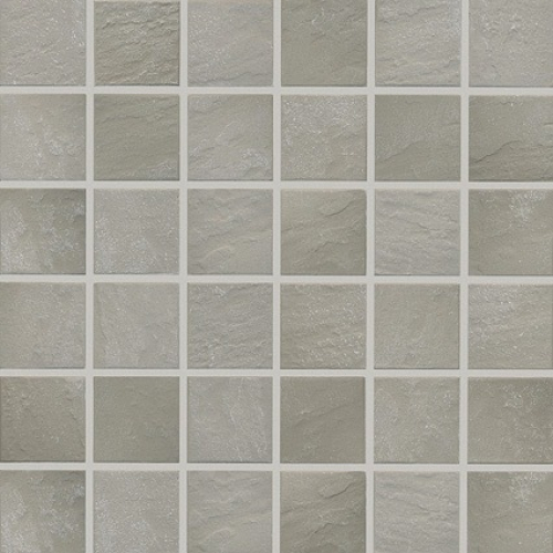 Jasba Basic Stone Mosaik Secura hellgrau matt 32x32 cm