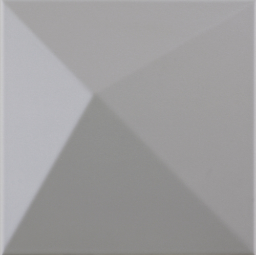 Dune ceramics Kioto Smoke Wandfliese grau matt 25x25 cm