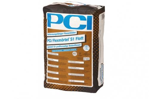 PCI S1 flott Verformungsfähiger Großformat-Fliesenkleber 20 Kg