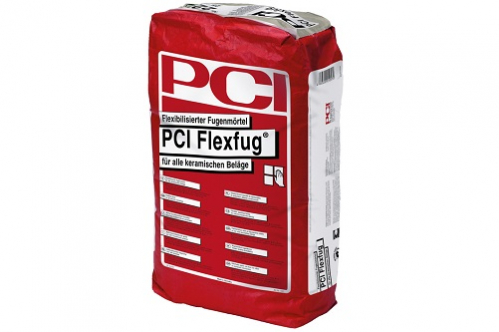 PCI Flexfug Flexibilisierter Fugenmörtel, sandgrau 25 Kg