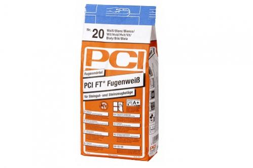 PCI Fugenweiß Fugenmörtel 5 Kg Beutel