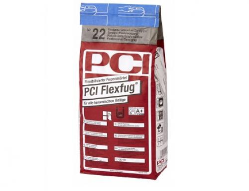 PCI Flexfug Flexibilisierter Fugenmörtel, sandgrau 5 Kg